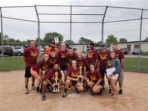 2018 Softball CoEd Wednesday League & Playoff Champions