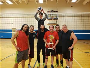 2018-19 Volleyball Men's Playoff Champions