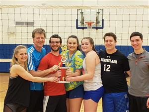 2018-19 Volleyball CoEd Playoff Champions - Forrest Bump