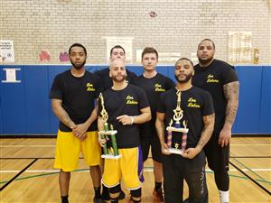 2018-19 Basketball Men's League and Playoff Champions - LaHac Lakers
