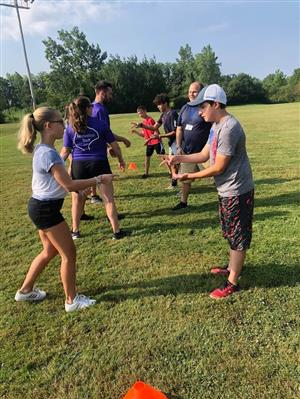 Junior Staff Rock Paper Scissors Relay